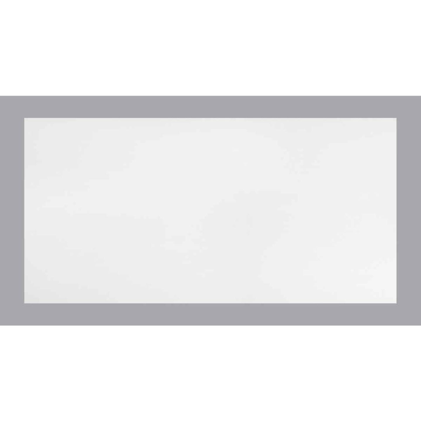 Parkland Performance SpectraTile Finale 2 Ft. x 4 Ft. White PVC Smooth Suspended Ceiling Tile Image 1