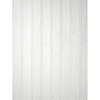 DPI 4 Ft. x 8 Ft. x 3/16 In. Paintable White Beaded Pinetex Wall Paneling