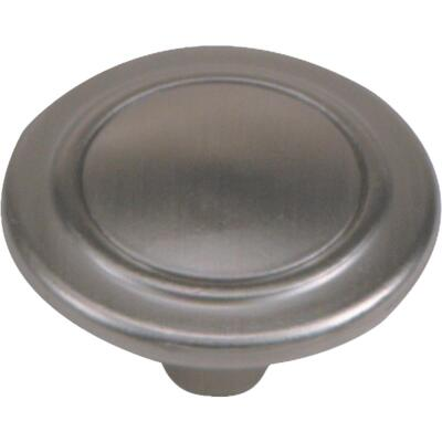 Laurey Satin Pewter 1-1/4 In. Cabinet Knob