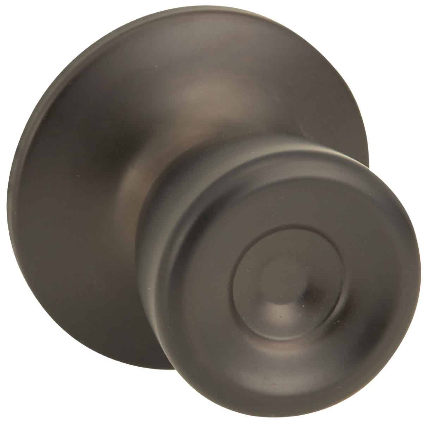 Steel Pro Oil Rubbed Bronze Hall & Closet Door Knob Image 1