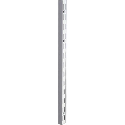 Knape & Vogt 82 Series 63 In. Titanium Steel Heavy-Duty Double-Slot Shelf Standard