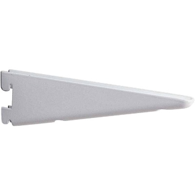 Knape & Vogt 182 Series 7 In. Titanium Steel Heavy-Duty Double-Slot Shelf Bracket