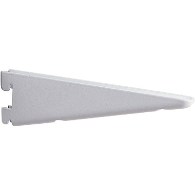 Knape & Vogt 182 Series 9 In. Titanium Steel Heavy-Duty Double-Slot Shelf Bracket