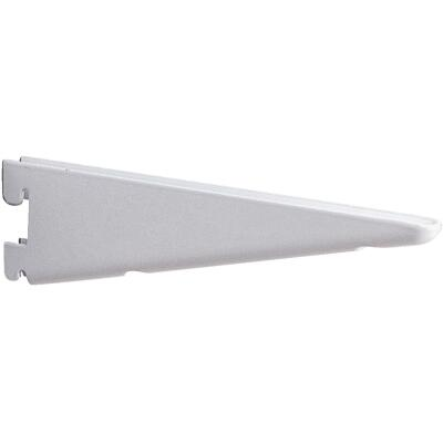 Knape & Vogt 182 Series 10-1/2 In. Titanium Steel Heavy-Duty Double-Slot Shelf Bracket