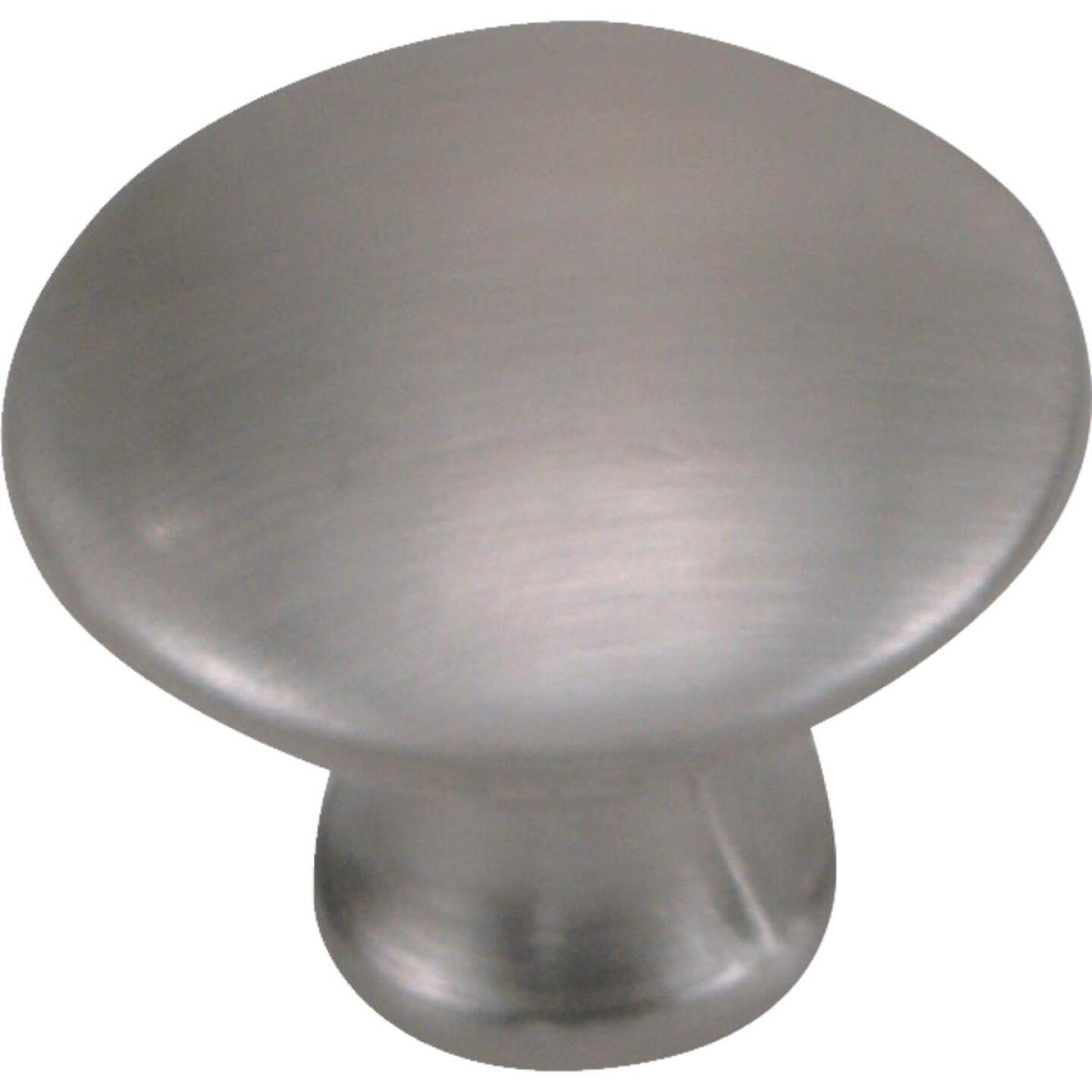 Laurey Satin Pewter 1-1/4 In. Cabinet Knob Image 1