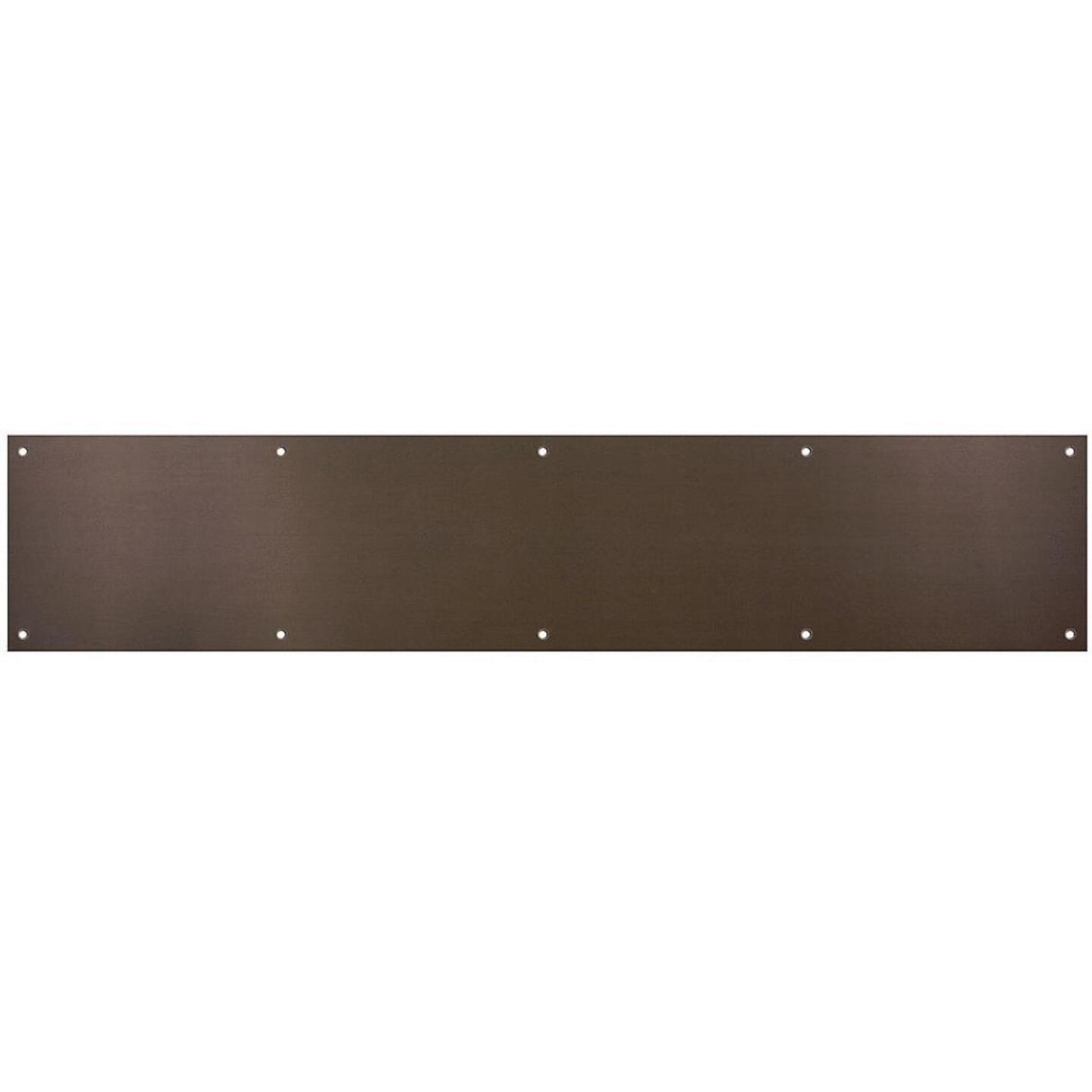 National 6 In. x 30 In. Oil-Rubbed Bronze Aluminum Kickplate Image 1