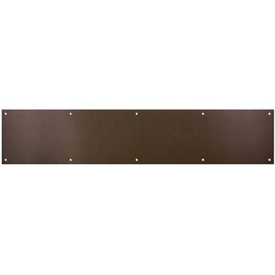 National 6 In. x 30 In. Oil-Rubbed Bronze Aluminum Kickplate