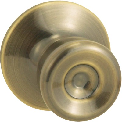 Steel Pro Antique Brass Hall & Closet Door Knob