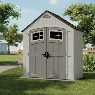 Suncast Cascade 171 Cu. Ft. Blow Molded Resin Storage Shed