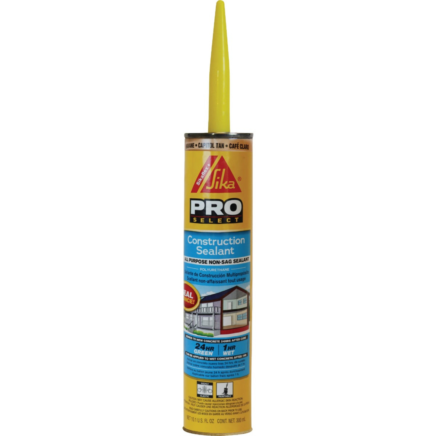 Sikaflex Sika 10.1 Oz. Pro Select Construction Polyurethane Sealant, Tan Image 1