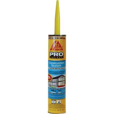 Sikaflex Sika 10.1 Oz. Pro Select Construction Polyurethane Sealant, Tan