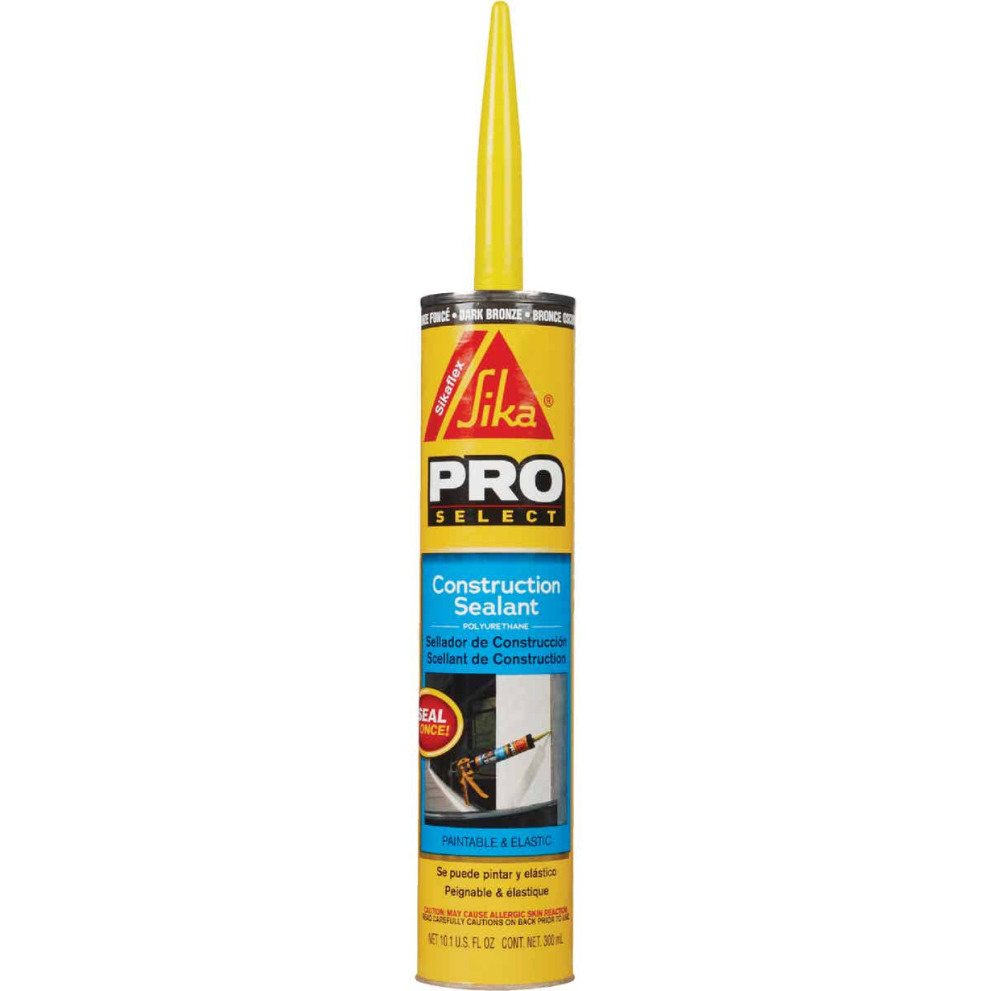 Sikaflex Sika 10.1 Oz. Pro Select Construction Polyurethane Sealant, Dark Bronze Image 1