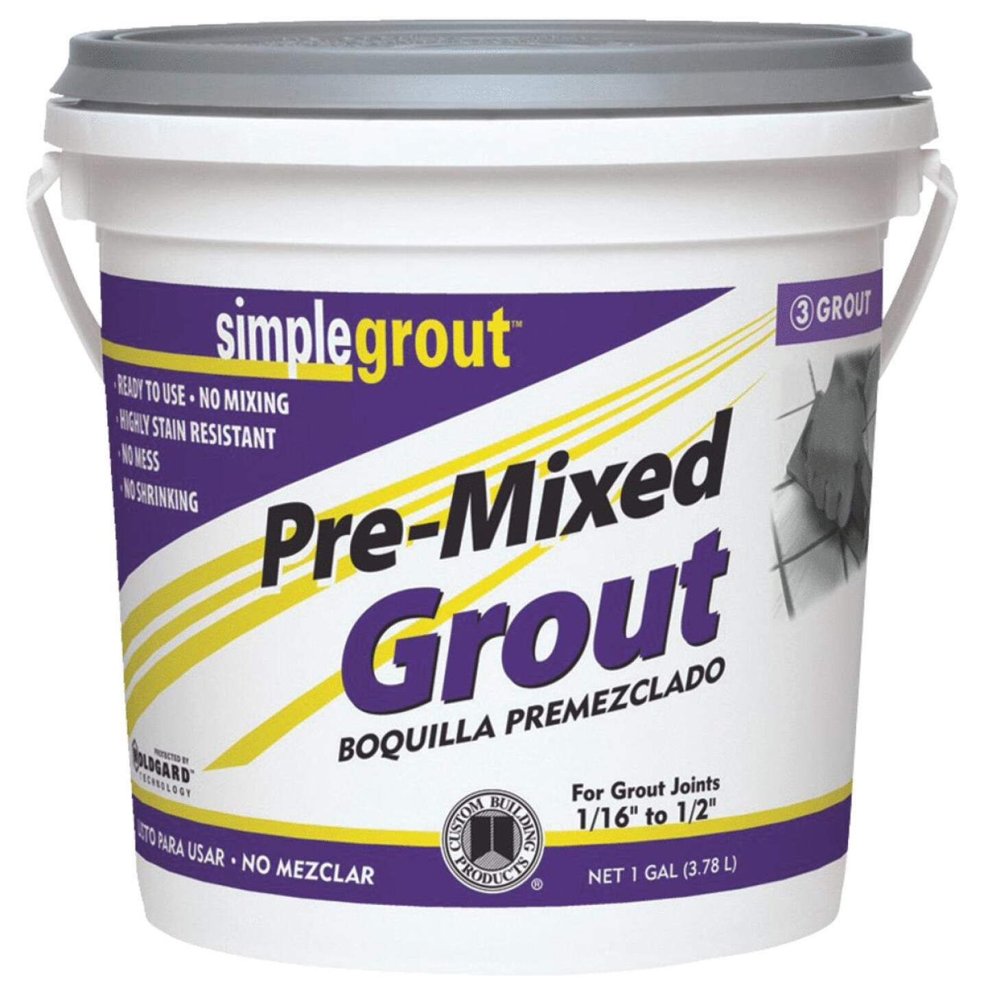 Custom Building Products Simplegrout Gallon Haystack Pre-Mixed Tile Grout Image 1
