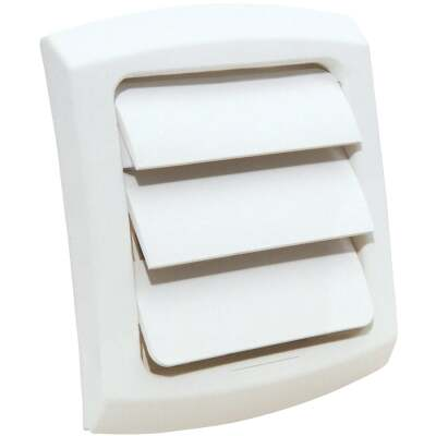 Dundas Jafine ProVent 4 In. White Plastic Replacement Vent Cap
