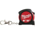 Milwaukee 6 Ft. Key Ring Tape Measure Image 1