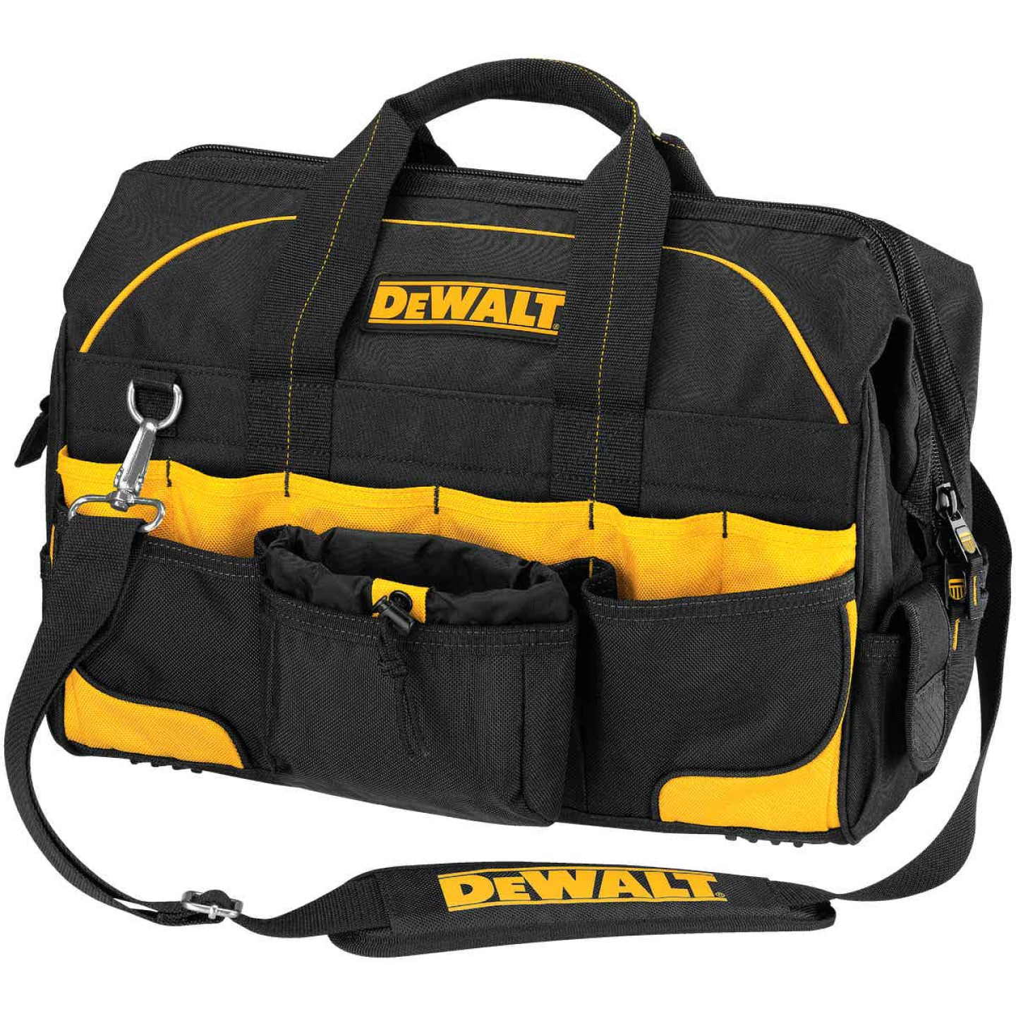DeWalt 42-Pocket 18 In. Pro Contractor's Tool Bag Image 1