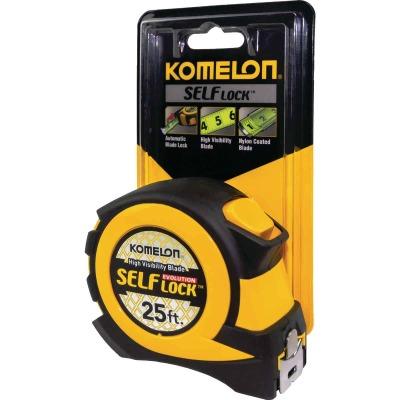 Komelon Evolution 25 Ft. Self-Lock Tape Measure