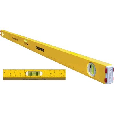 Stabila Measuring Stick 24 In. Aluminum Box Level