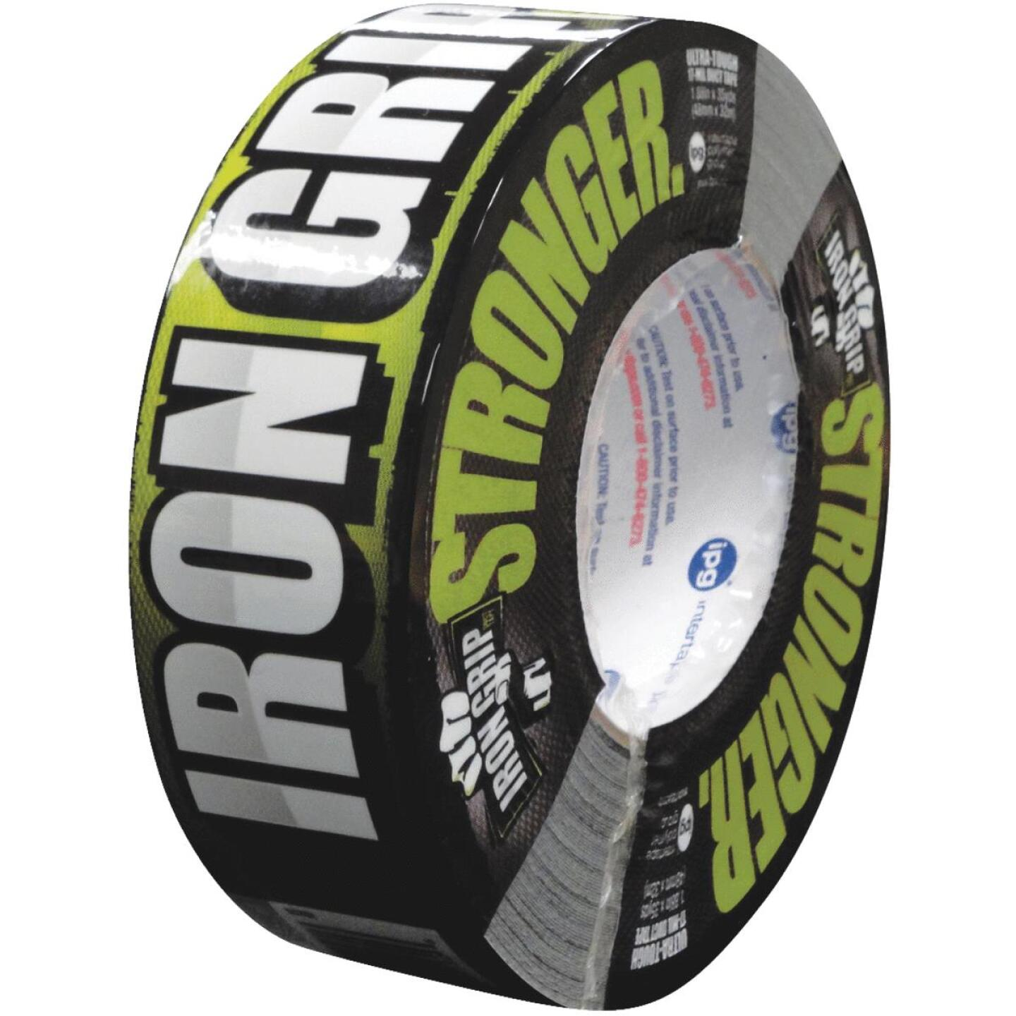 Intertape IRONGRIP 1.88 In. x 35 Yd. Duct Tape, Black Image 1