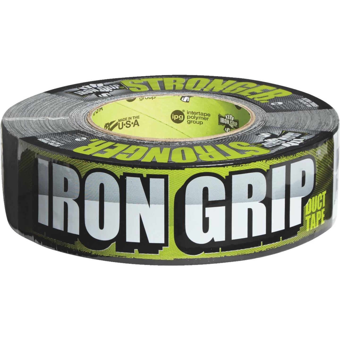 Intertape IRONGRIP 1.88 In. x 35 Yd. Duct Tape, Black Image 4