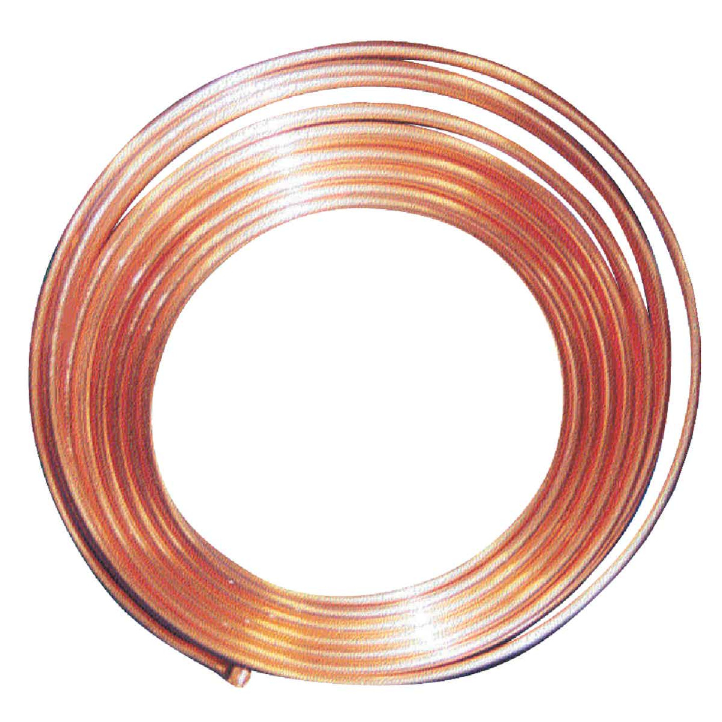 Mueller Streamline 3/8 In. OD x 20 Ft. Refrigerator Copper Tubing Image 1
