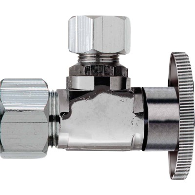 Do it 5/8 In. OD x 1/4 In. OD Quarter Turn Angle Valve