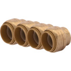 SharkBite 3/4 In. Push-to-Connect Brass End Push Cap (4-Pack) Image 1