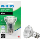 Philips 60W Equivalent Clear Medium Base PAR20 Halogen Floodlight Light Bulb Image 1