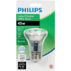 Philips 60W Equivalent Clear Medium Base PAR20 Halogen Floodlight Light Bulb Image 2