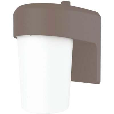 Halo Bronze Dusk To Dawn LED Outdoor Area Light Fixture