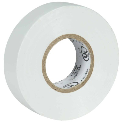 Do it General Purpose 3/4 In. x 60 Ft. White Electrical Tape