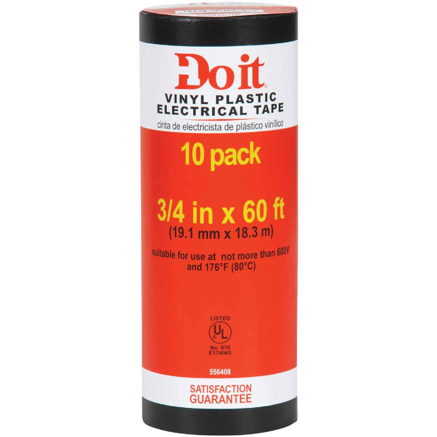Do it General Purpose 3/4 In. x 60 Ft. Electrical Tape (10-Pack) Image 1