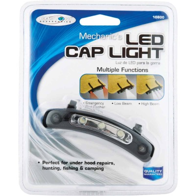 Custom Accessories Mechanic's LED Cap Clip-On Light