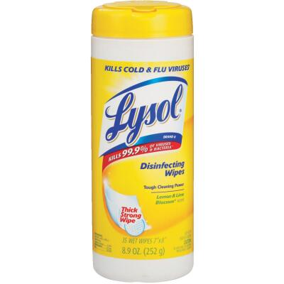 Lysol Lemon & Lime Blossom Sanitizing Wipes, 35-Ct.