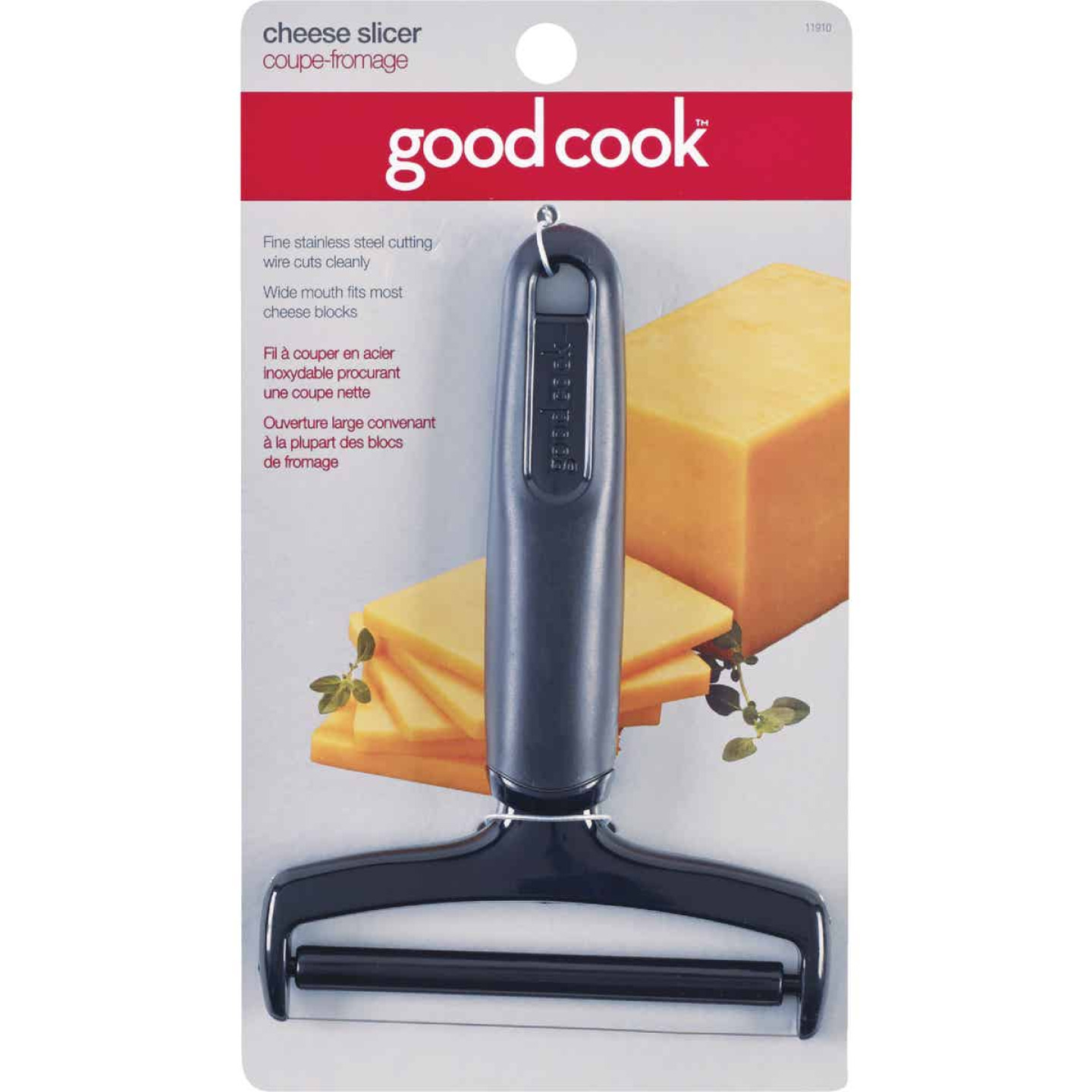 Goodcook 5 In. W. Plastic Cheese Slicer Image 1