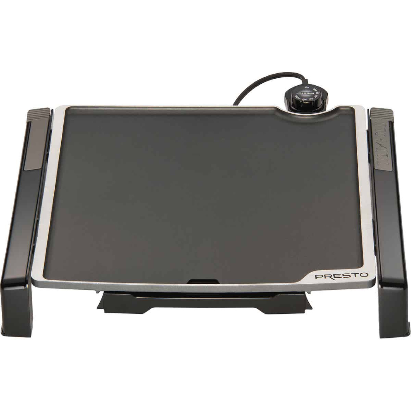 Presto Cool Touch Tilt'nDrain Electric Griddle Image 1