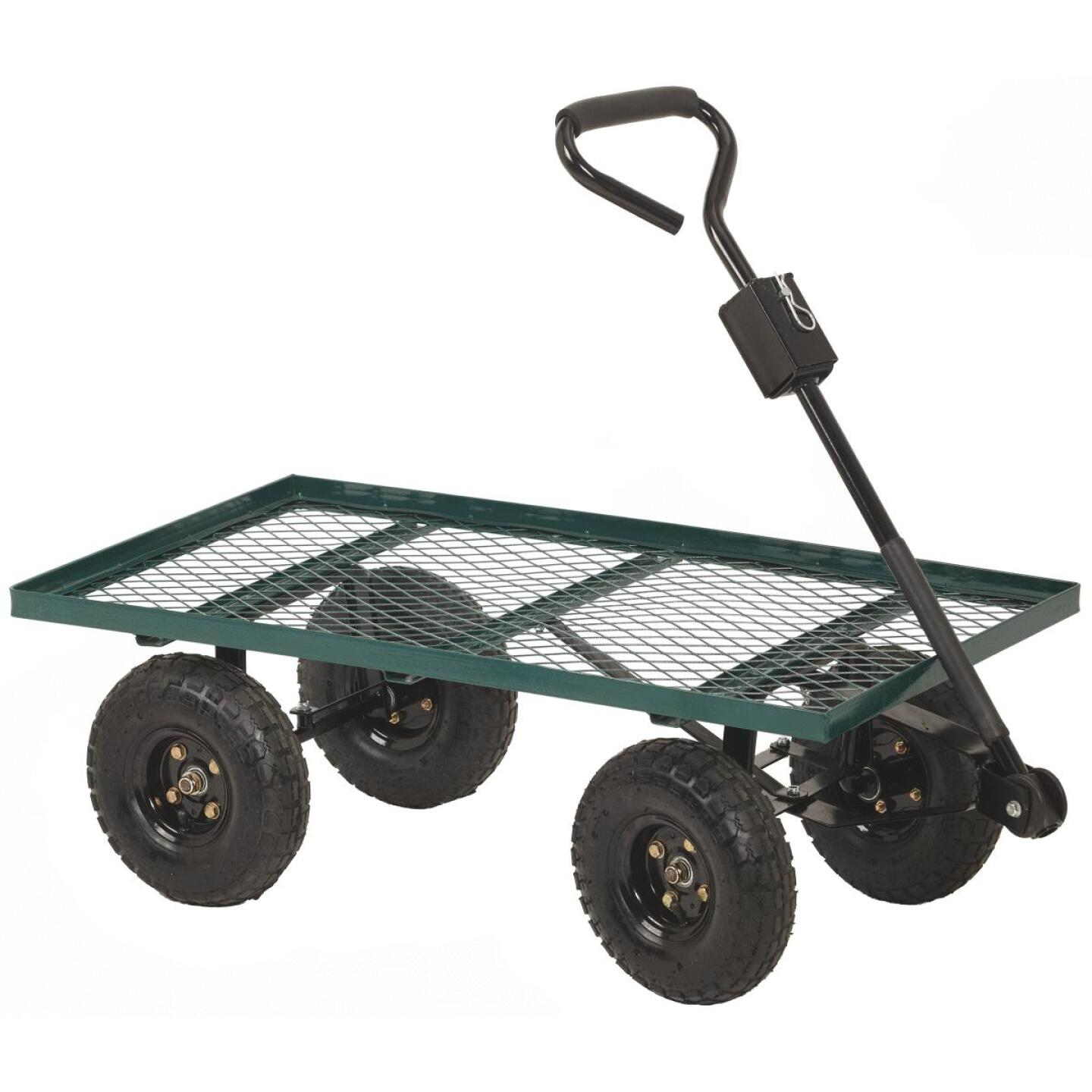 Best Garden 500 Lb. Steel Garden Cart Image 1