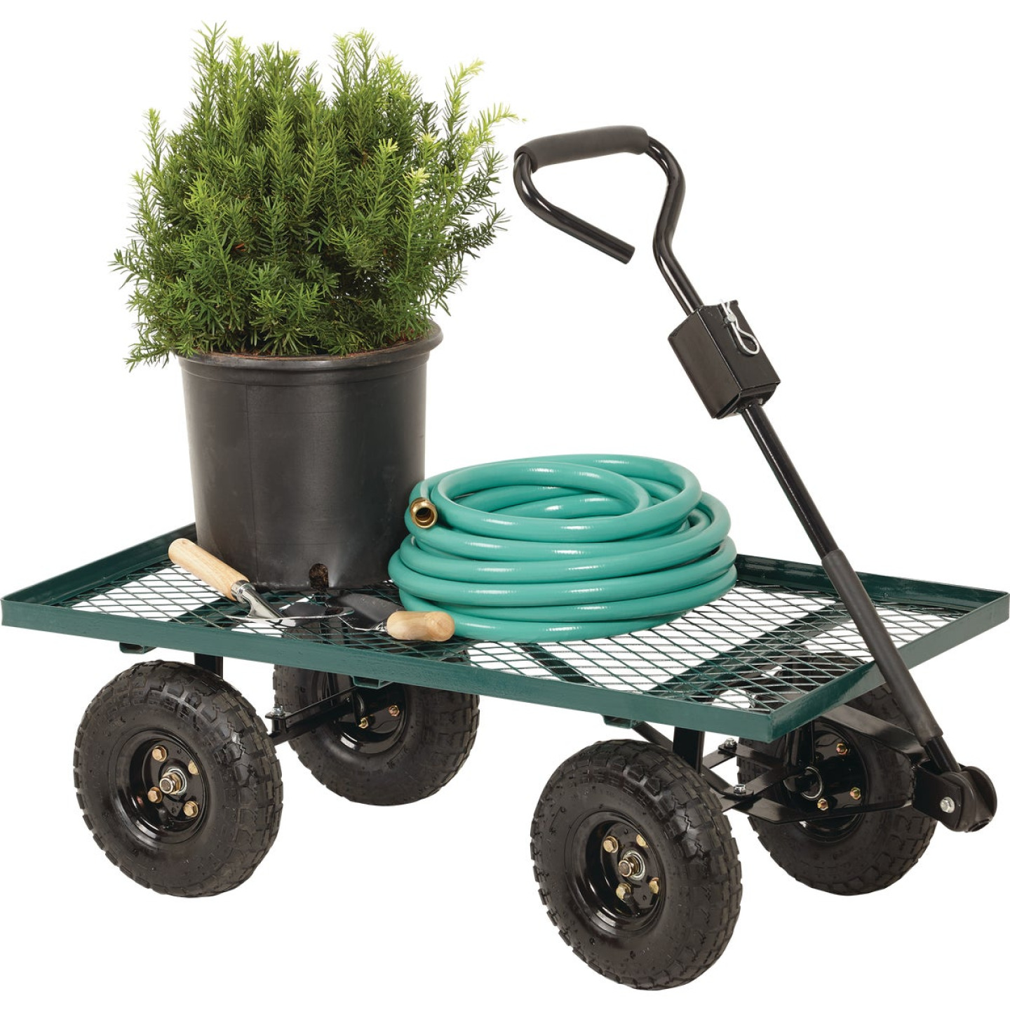 Best Garden 500 Lb. Steel Garden Cart Image 2