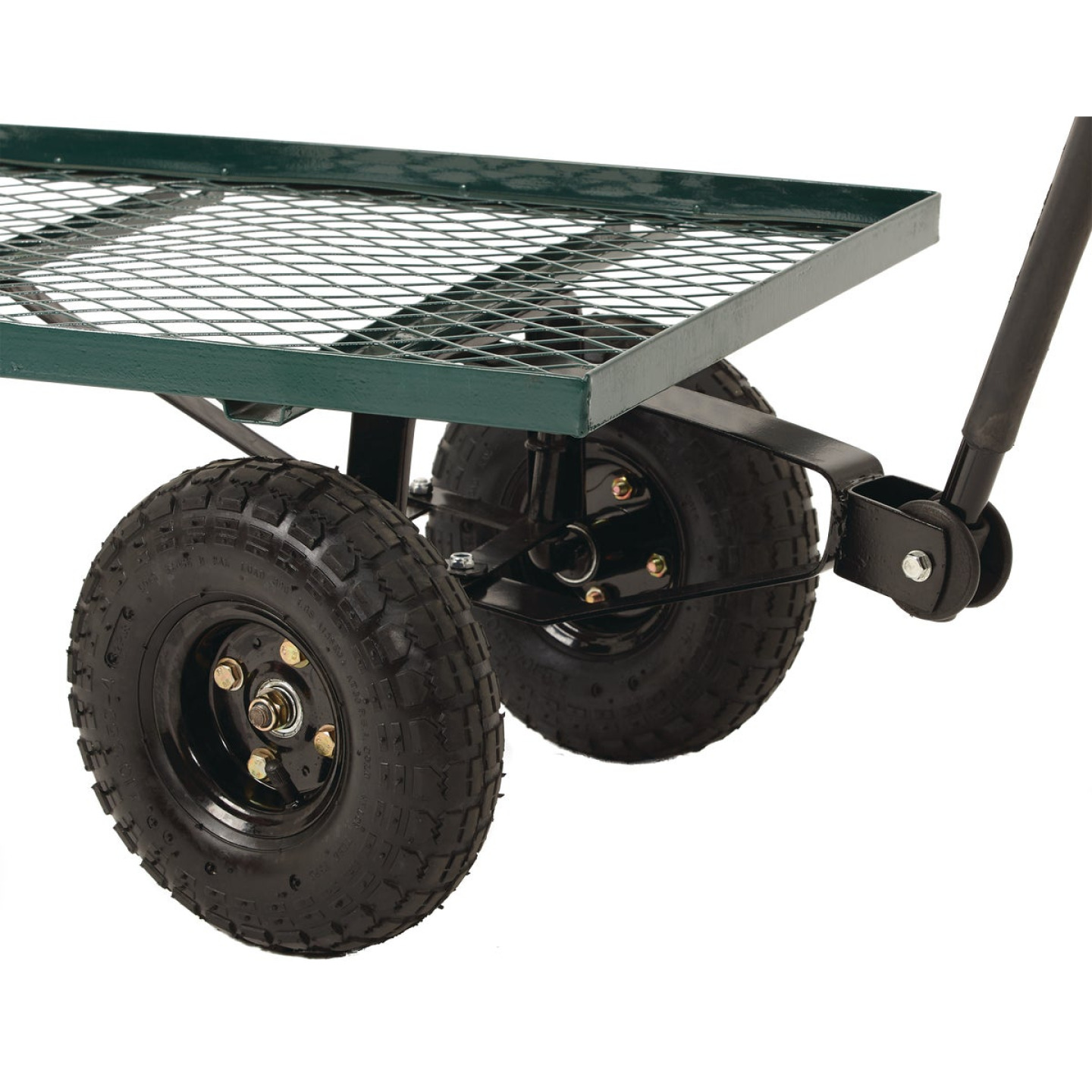 Best Garden 500 Lb. Steel Garden Cart Image 3