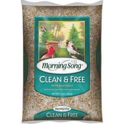 Morning Song 5 Lb. Clean & Free Shell Free Wild Bird Seed