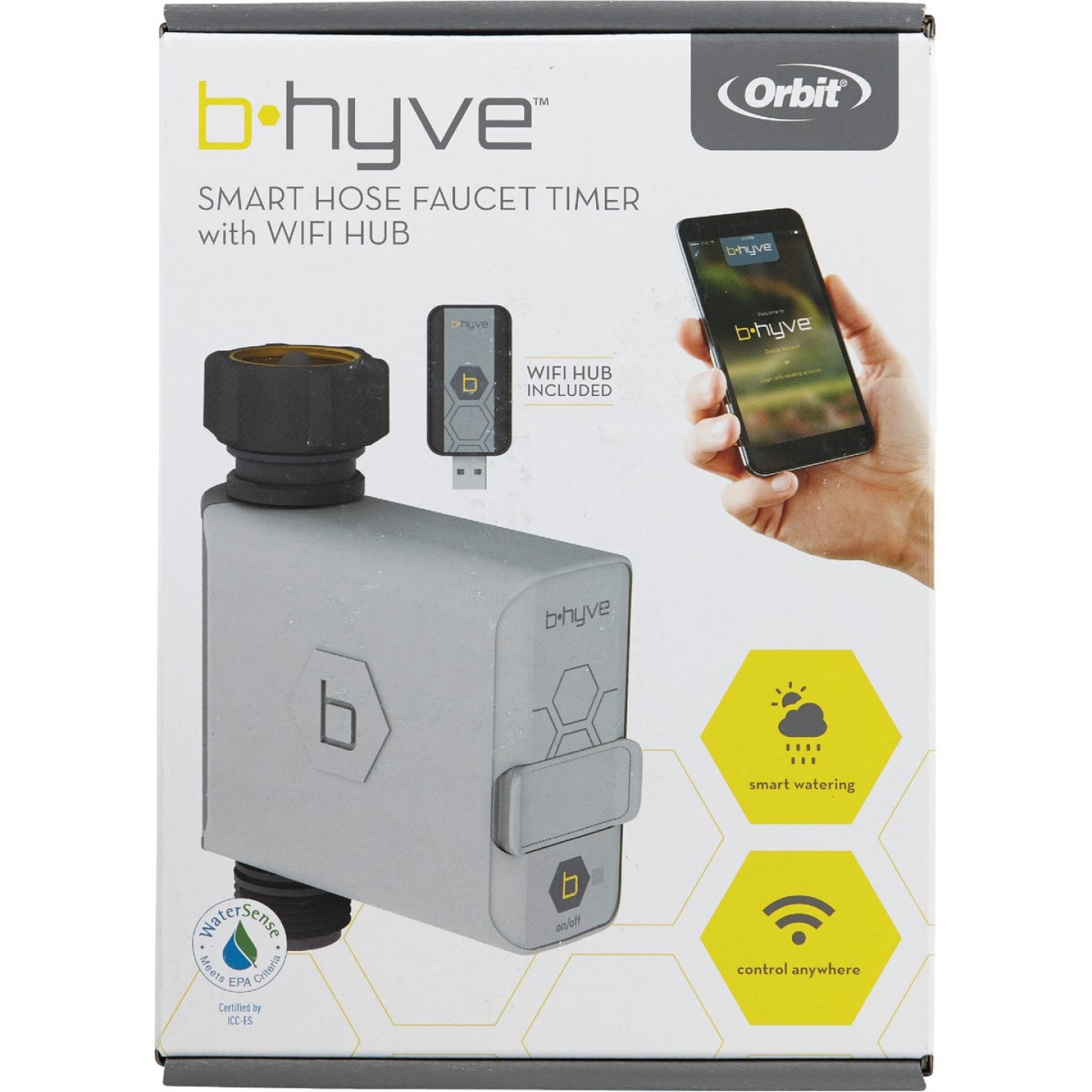 Orbit B-Hyve Electronic 1-Zone Water Timer Image 2