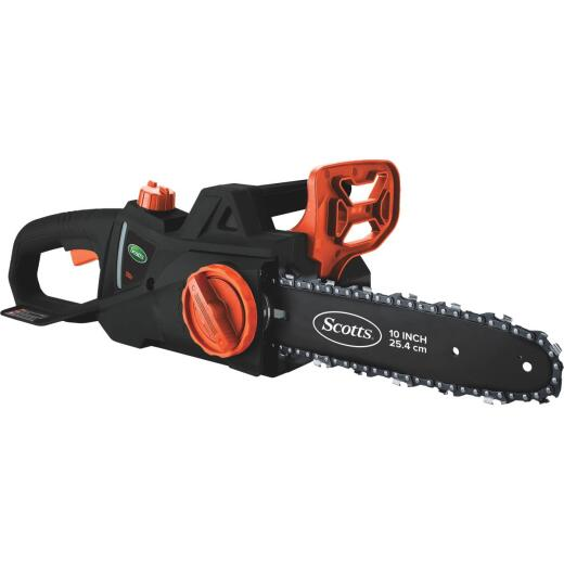 Scotts 12 In. 20 Volt Lithium Ion Cordless Chainsaw
