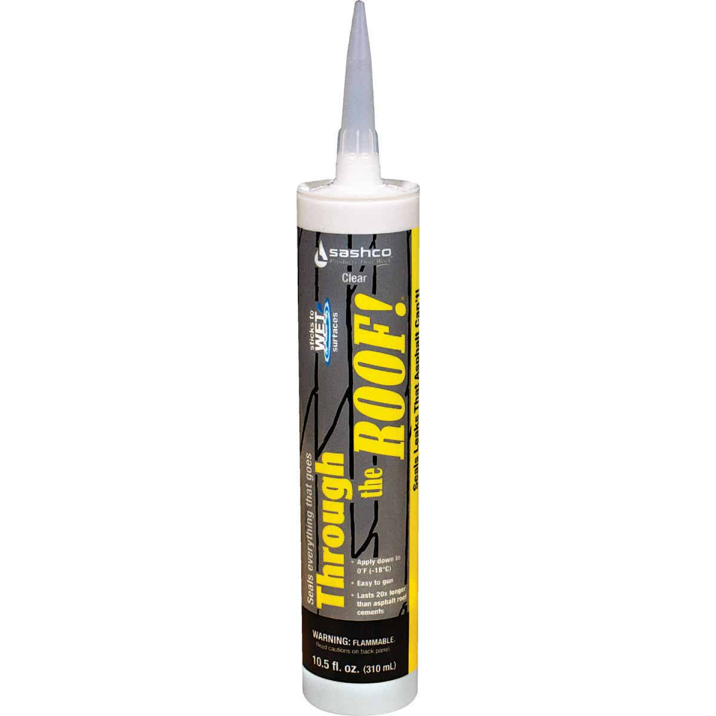 Through The Roof! 10.5 Oz. Cartridge VOC Cement & Patching Sealant Image 1
