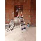 Hailo L100 4-Step Ladder with Adjustible Handrail & 330 Lb. Capacity Image 2