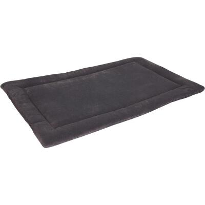 Petmate Aspen Pet 23.5 In. W. x 16.5 In. L. Woven Plush/Polyester Batting Kennel Mat Dog Bed