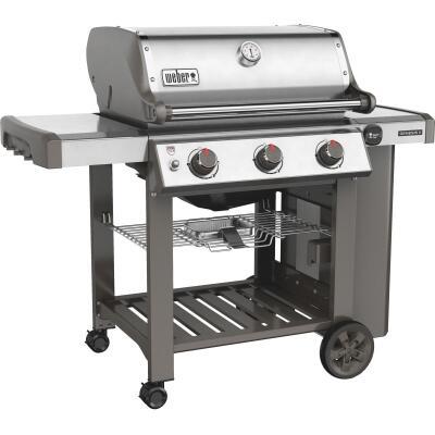 Weber Genesis II S-310 3-Burner Stainless Steel 37,500-BTU LP Gas Grill