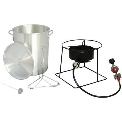 Metal Fusion King Kooker 29 Qt. Aluminum Turkey Outdoor Fryer
