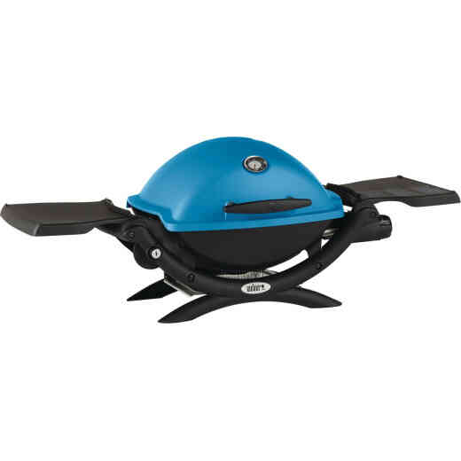 Weber Q 1200 1-Burner Blue 8,500-BTU LP Gas Grill