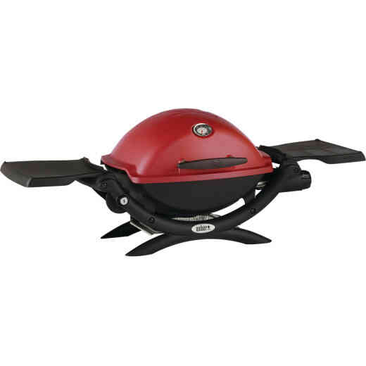 Weber Q 1200 1-Burner Crimson 8,500-BTU LP Gas Grill