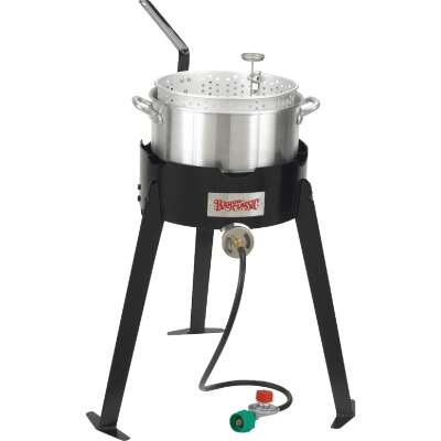 Bayou Classic 10 Qt. Aluminum Fish Outdoor Fryer